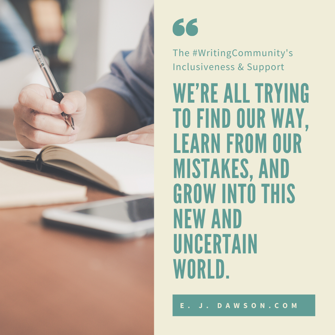 We're all trying to find our way, learn from our mistakes, and grow into this new and uncertain world.